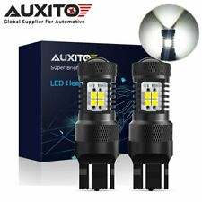 2x AUXITO 7443 7440 LED Back up Reverse Brake Side Marker DRL Light Bulb 6000K