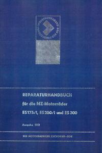 Reparaturhandbuch für MZ ES 175/1, ES 250/1 und ES 300 🔧 Reparaturanleitung DDR
