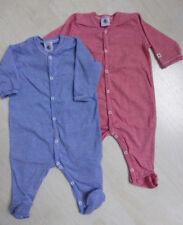 Strampler/Overall/Schlafanzug, blau- oder rot/weiß ger. von Petit Bateau. NEU!!