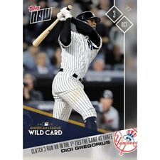 2017 Topps Now #693 CLUTCH 3-RUN HR IN THE 1ST TIES THE GAME DIDI GREGORIOUS