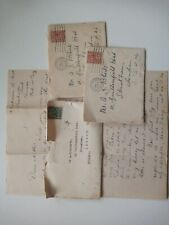 3 1930s letters to Arthur Roberts Streatham Inc one from Canada