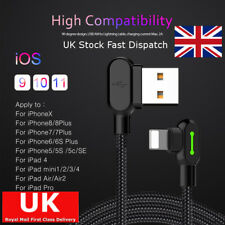 1.8 M mcdodo 90 grados codo lightning de carga Cable de datos USB para Apple iPhone