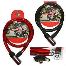 Chaîne De Sécurité Couvert Cadenas Vélo Moto 1 Mètre Ladri 2 Clés 611