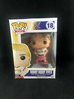 WWE Rowdy Roody Piper Damaged Box Funko Pop Vinyl