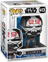 Funko POP! Star Wars The Clone Wars - Wrecker Vinyl Figure IN HAND