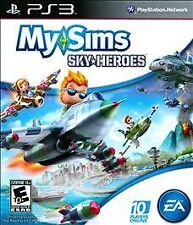 My Sims Sky Heroes (Sony PlayStation 3, 2010) Brand New Factory Sealed PS3