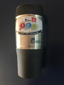 Bubba 18oz Black And Steel Travel Mug (Without Handle)