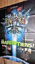 LES MARRTIENS  ! affiche cinema martiens