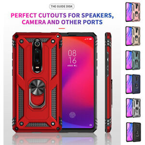 Ring Holder Shockproof Phone Protective Case For Xiaomi 10 Pro Ultra Redmi 9 K30