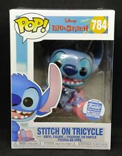 Funko Pop! Disney Stitch on Tricycle #784 Funko Shop Exclusive Limited Edition