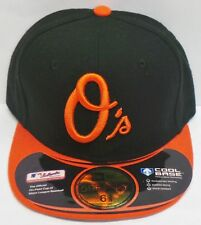 New Era 59 Cinquante UK Acperf Balori Cap/Hat (6 3/8) Orange/Noir Authentique-Neuf