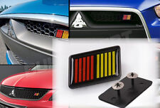 NEW ABS RALLIART Grill Badge Front Emblem Grilles EVO