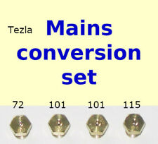 include libero Rotolo di nastro PTFE GAS * 2x87 2x65 6 LPG JET Ugello PIANO COTTURA KIT 2x50