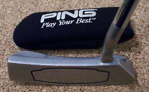 Ping ZB2 iN PUTTER 34.5 Inch Black Dot Golf Club Super Stroke Pistol GT Tour