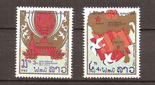 Laos - 1982 - Mi. 595-96 - Postfris - LA025