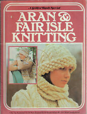 Aran & Fair Isle Knitting Golden Hands Special pattern book for all the family