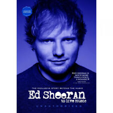 Ed Sheeran: To Live Music DVD (2015) Ed Sheeran ***NEW***