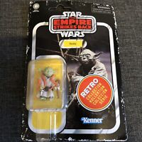 """STAR WARS Retro Collection Wave 2 - YODA  3.75"""" Action Figure - ESB new"""