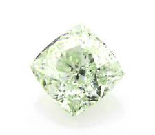 Green Diamond - 0.65ct Natural Loose Fancy Light Green Diamond GIA VS1 Cushion