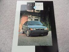 1993 VW Volkswagen Passat Sales Brochure