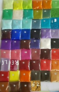 10g  Cosmetic Grade Natural Mica Pigment Powder Soap Craft Colorant Dye Color