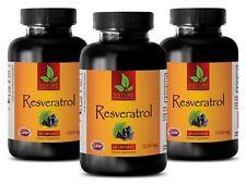 brain balance-RESVERATROL 1200 Mg-healthy blood sugar levels-3 Bottles 180 Caps