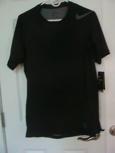 Men's Nike Pro HYPERCOOL Fitted Training Top Black 887109 010 Size S~2XL
