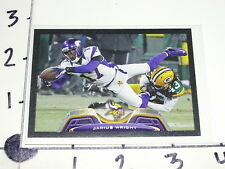 Jarius Wright 2013 TOPPS #234 Black SP/58 Minnesota VIKINGS Arkansas RAZORBACKS