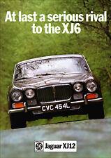 JAGUAR XJ12 XJ-12 V12 RETRO A3 POSTER PRINT FROM CLASSIC 70's ADVERT