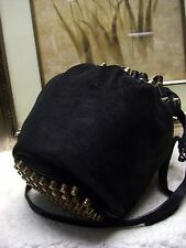 ALEXANDER WANG Diego Bucket Shimmering Embossed Bag $1295