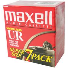 Maxell Maxell UR-90 Blank Audio Cassette Tape 7 Pack