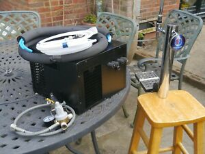 FOSTERS OR ANY BRAND HOME BAR SET UP BEER COOLER AND PUMP FULL KIT PUB
