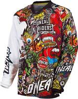 O'Neal Mayhem Lite Crank Jersey - MX Motocross Dirt Bike Off-Road ATV Mens Gear
