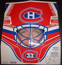 1994-95 PATRICK ROY Goalie MASK Kraft Hockey '94 Montreal Canadiens MINT Sealed