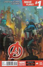 Us Comic pack Avengers 24-28 Hickman ribic Larroca Marvel