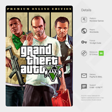 Grand Theft Auto V GTA 5: Premium Online Edition (PC) - Digital Code [GLOBAL]