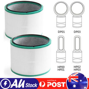 Hepa Filter For Dyson Pure Hot Cool Link Air Purifier HP00 HP01 HP02 HP03 DP01