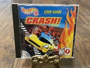 HOT WHEELS CRASH PCCD-ROM GAME! RACE HOT WHEELS IN INTERACTIVE ADVENTURE!