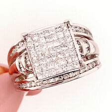 0.80ct Princess Cut Diamond Right-Hand Ring