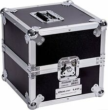 Deejay LED Fly Drive Case Medium Duty Deluxe LP Case Holds 80 Records #TBHLPE ^