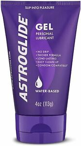 Astroglide Gel Personal Lubricant & Vaginal Moisturizer, Clear, 113 grams, pack