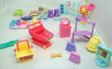 Littlest Pet Shop Store Shopping Play Set Accessory Lot 4-2S