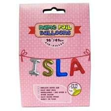 Royal County Products Name Foil Balloons - Isla - New