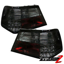 M-Benz W124 86-95 Smoke Left+Right Brightest LED Tail Light Brake Signal Lamp