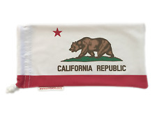 California Flag - High Quality Microfiber Soft Case - Sunglasses