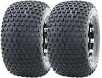 Set 2 WANDA ATV tires 22X11-8 22x11x8 4PR Knobby