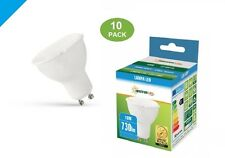 10W LED Proyector Cool Blanco 730 lúmenes GU10-Paquete de 10