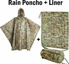 Внешний вид - USGI Industries - Rip-Stop Liner & Rain Poncho 2-Pack (OCP / Multicam)