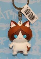 MONOGRAM PURRFECT PETS CAT 3-D FIGURAL KEY-RING KEY CHAIN RAGDOLL CAT