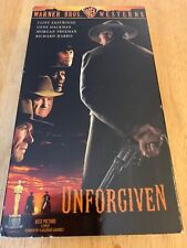 Unforgiven Vhs Vcr Video Tape Used Movie Morgan Freeman Clint Eastwood